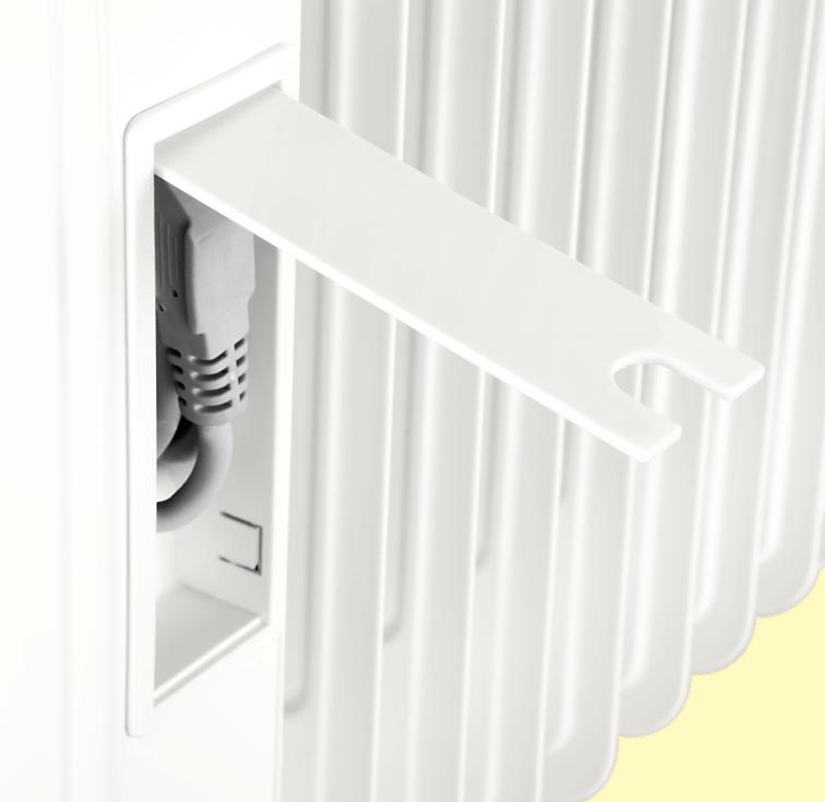 Масляный радиатор ECG OR 2090 - фото 7.