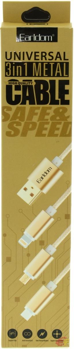 USB кабель Earldom ET-T36 - фото 3.