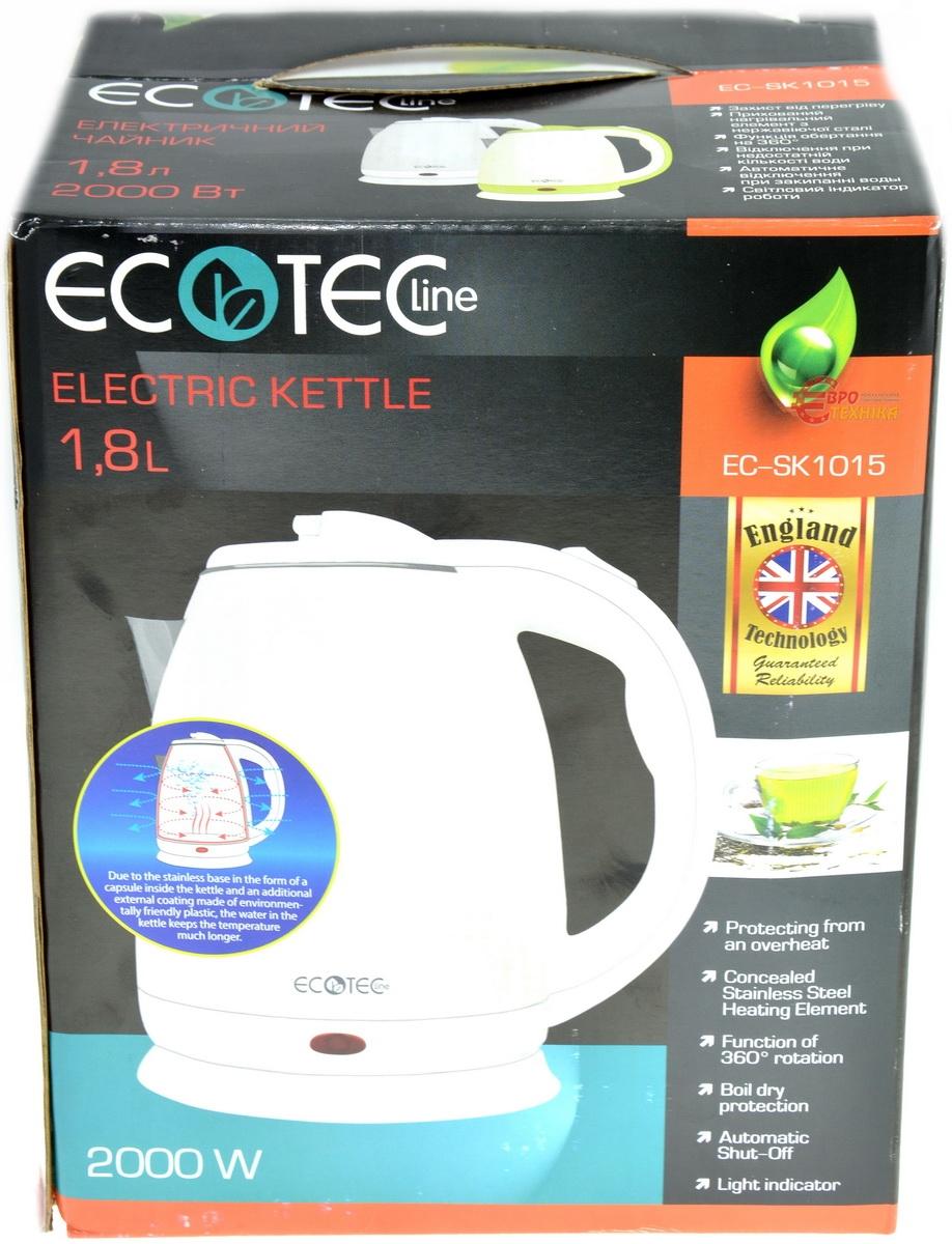 Чайник Ecotec EC-SK 1015 Gray - фото 5.