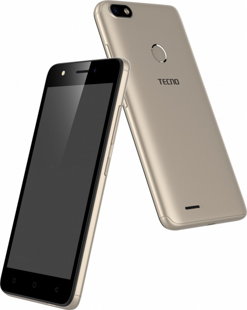 Смартфон Tecno F2 LTE Gold  - фото 4.