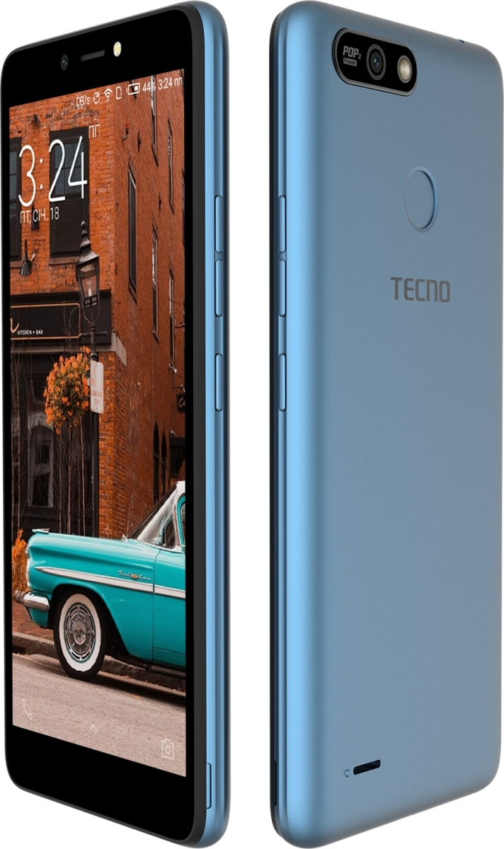 Смартфон Tecno POP 2 Power (B1P) DualSim City Blue + подарунок - фото 4.