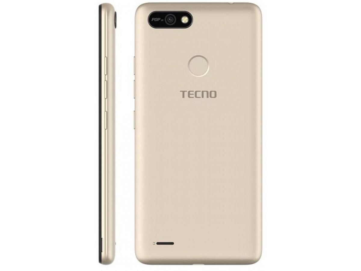 Смартфон Tecno Pop 2F (B1F) 1/16GB Dual Sim Champagne Gold  - фото 3.
