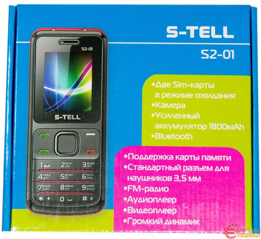 Инструкция к телефону s tell s2 01