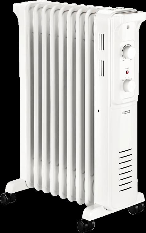 Масляный радиатор ECG OR 2090 - фото 3.