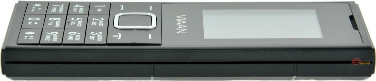 Мобильный телефон Viaan V181 Dual Sim Black - фото 8.