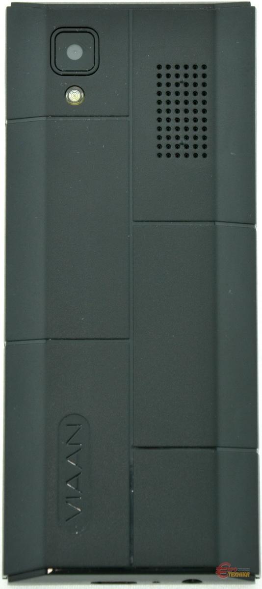 Мобільний телефон Viaan V181 Dual Sim Black - фото 4.