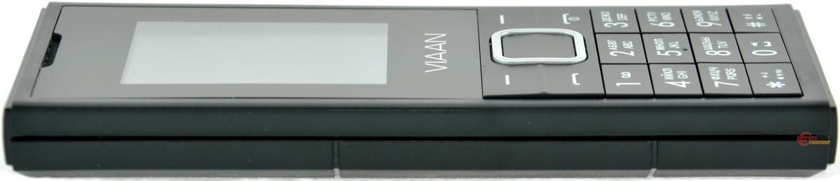 Мобильный телефон Viaan V181 Dual Sim Black - фото 6.