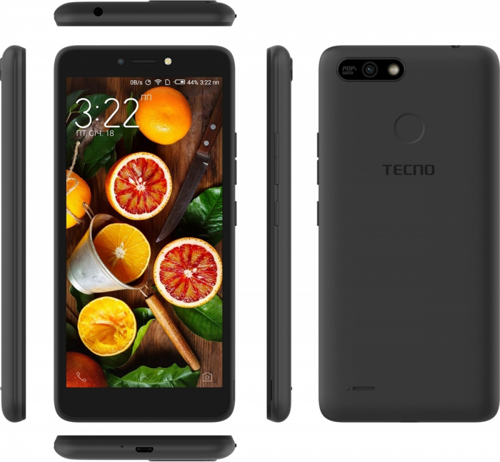 Смартфон Tecno POP 2 Power (B1P) DualSim Midnight Black - фото 6.