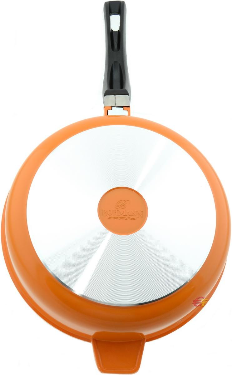 Сковорода Bohmann BH-6524WCR Orange - фото 6.
