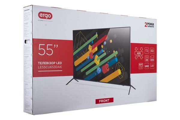 Smart телевізор Ergo LE55CU6530AK - фото 12.