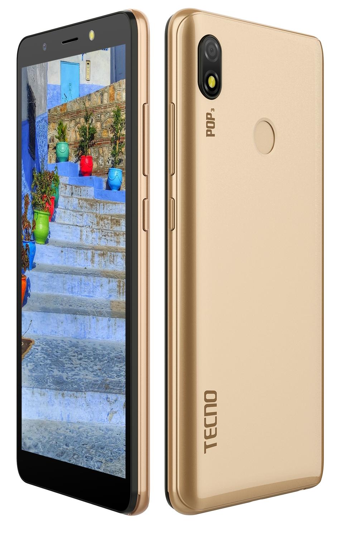 Смартфон Tecno Pop 3 (BB2) DualSim Champagne Gold - фото 4.