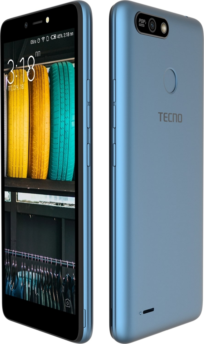 Смартфон Tecno POP 2 Power (B1P) DualSim City Blue + подарунок - фото 5.