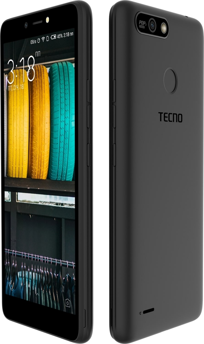 Смартфон Tecno POP 2 Power (B1P) DualSim Midnight Black - фото 5.