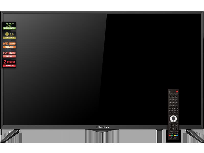 Smart телевизор Liberton 32AS2HDTA1 - фото 3.