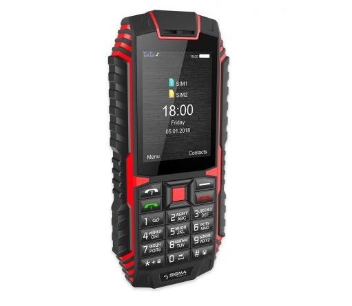 Мобільний телефон Sigma mobile X-treme DT68 Black-Red - фото 5.