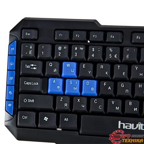 Клавиатура Havit HV-KB327 Multimedia - фото 3.