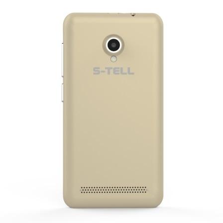 Смартфон S-Tell C256 Gold - фото 3.