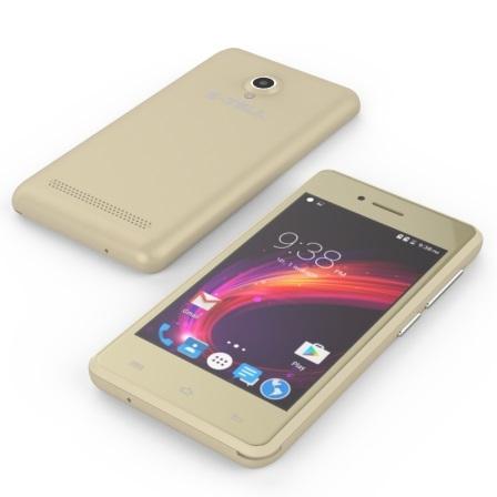 Смартфон S-Tell C256 Gold - фото 4.