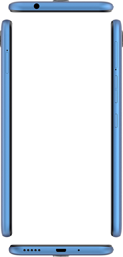 Смартфон Tecno Pouvoir 2 Pro 3/32GB (LA7 pro) DualSim City Blue - фото 6.