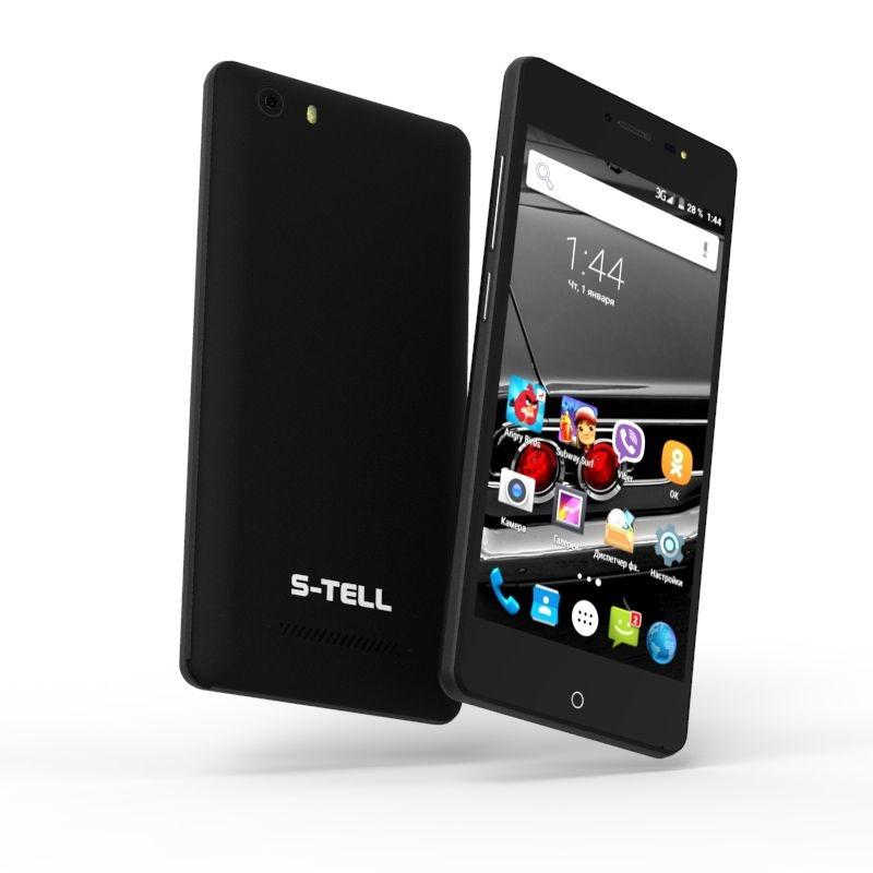 Смартфон S-Tell P790 Black - фото 3.