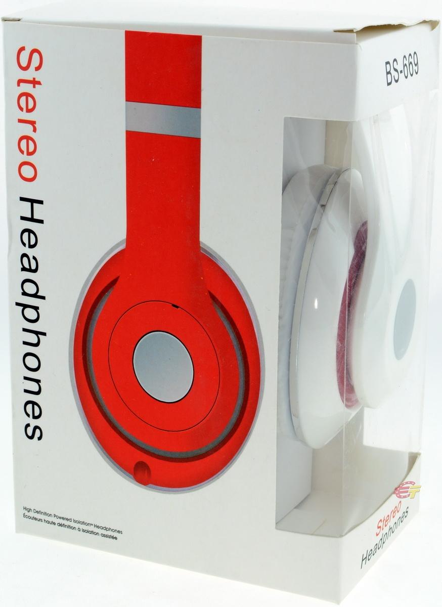 Наушники Stereo Headphones BS-669 - фото 10.