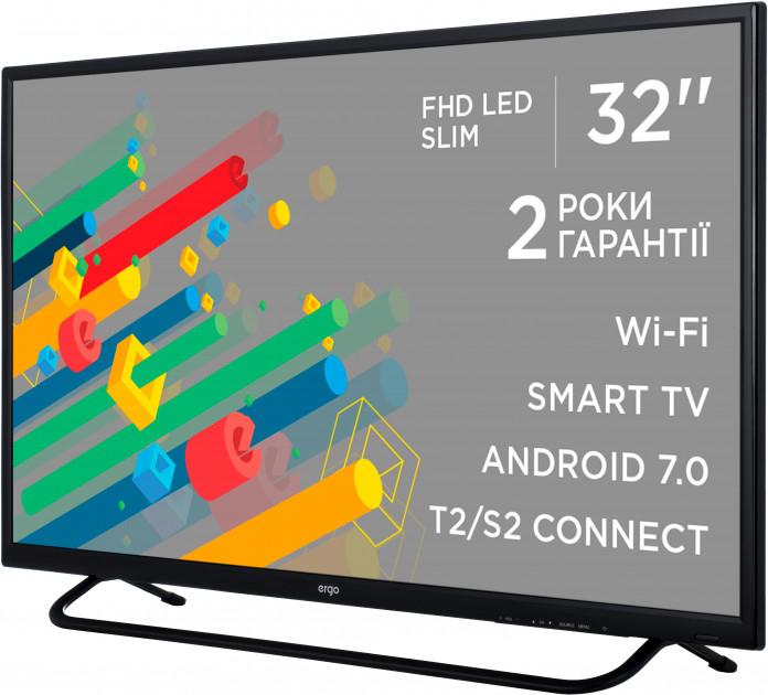 Smart телевізор Ergo LE32CT5550AK - фото 3.
