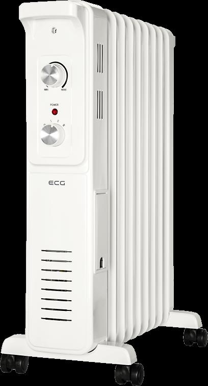 Масляный радиатор ECG OR 2090 - фото 4.
