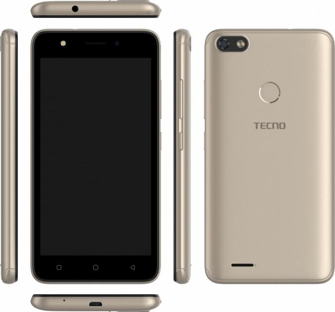 Смартфон Tecno F2 LTE Gold + подарунок - фото 3.