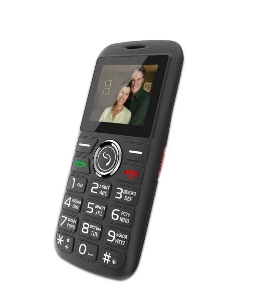 Мобільний телефон Sigma mobile Comfort 50 Basic Black - фото 4.