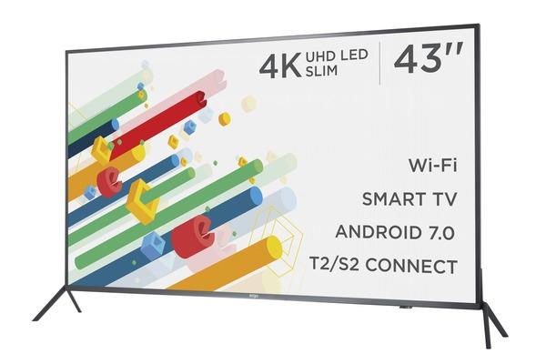 Smart телевізор Ergo LE43CU6530AK - фото 3.