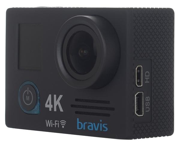 Экшн-камера Bravis А5 Black - фото 3.