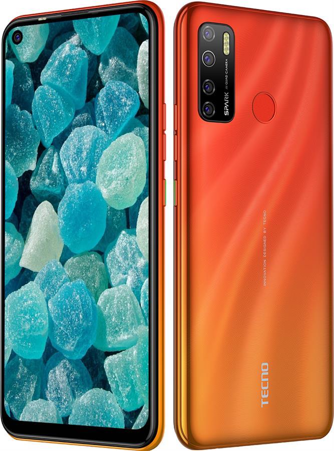 Смартфон Tecno Spark 5 Pro KD7 4/64GB DS Spark Orange - фото 3.