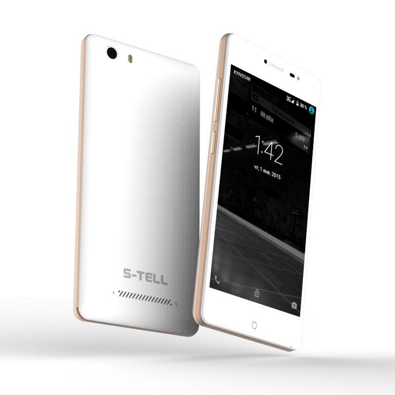 Смартфон S-Tell P790 Gold - фото 3.
