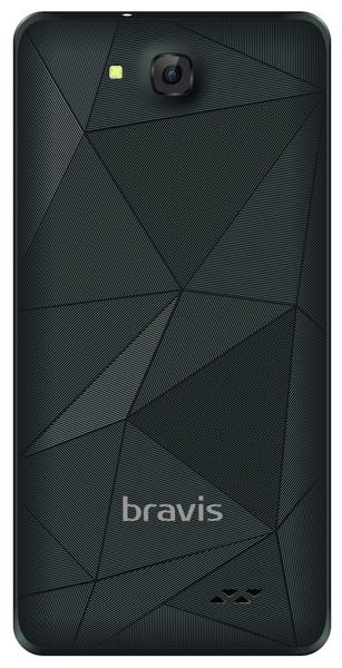 Смартфон Bravis A503 JOY Dual Sim Black - фото 5.