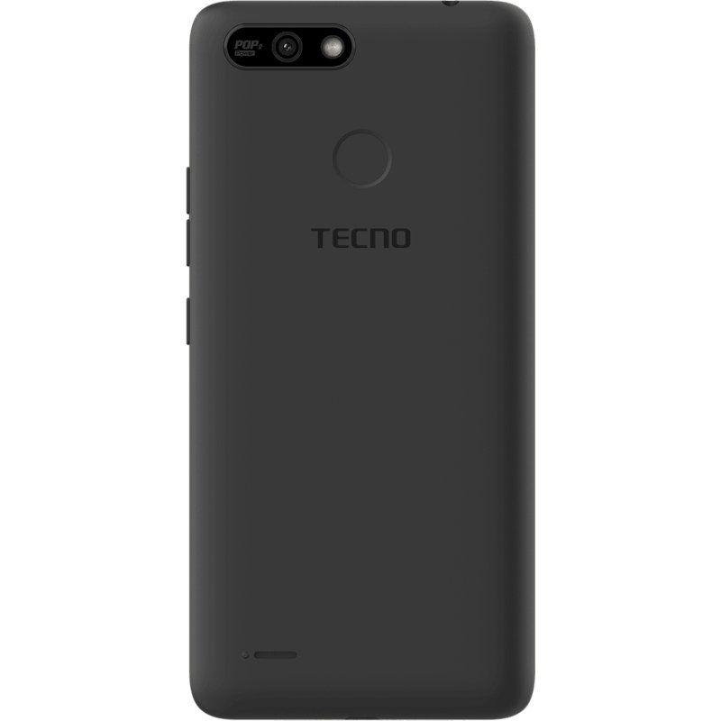 Смартфон Tecno POP 2 Power (B1P) 1/16GB DS Midnight Black повербанк в подарунок - фото 3.