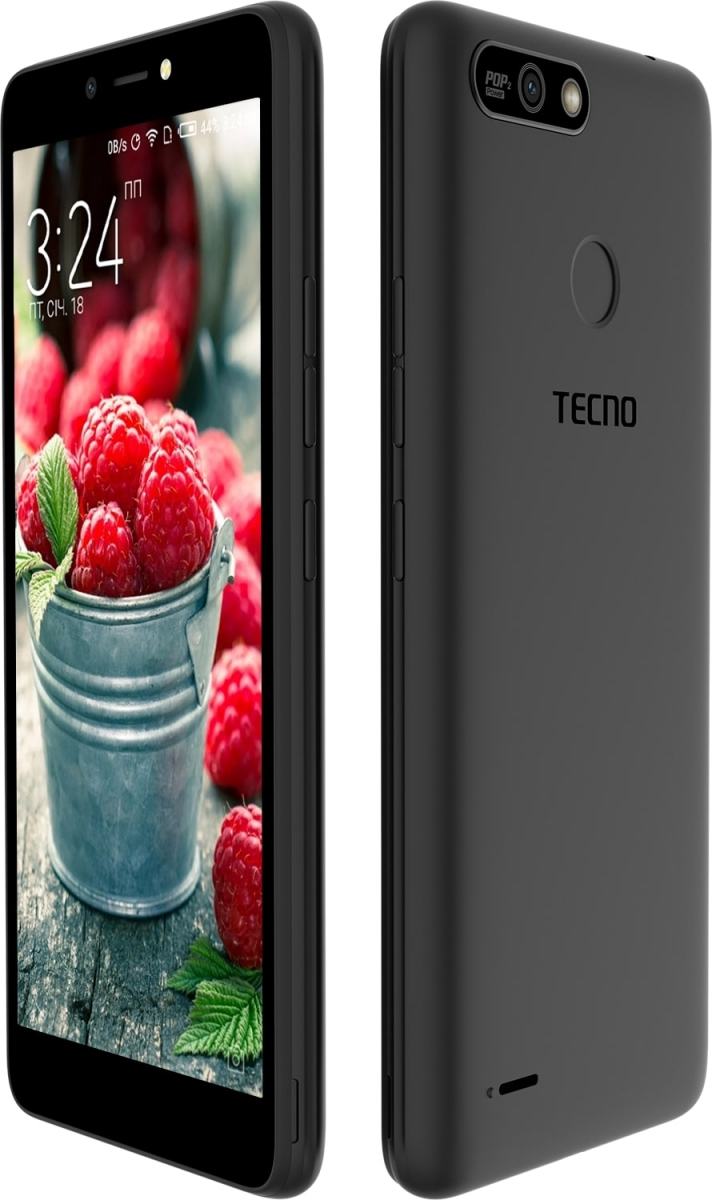 Смартфон Tecno POP 2 Power (B1P) DualSim Midnight Black - фото 3.
