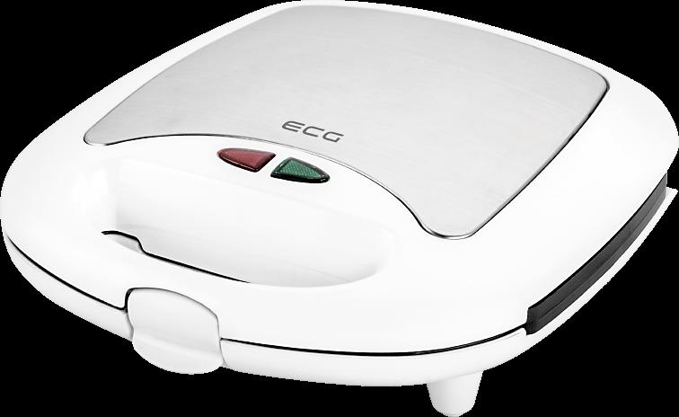 Бутербродниця ECG S 399 3в1 White - фото 3.
