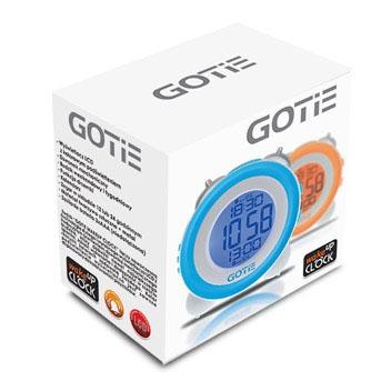 Електронний будильник GOTIE GBE-200P помаранчевий - фото 4.