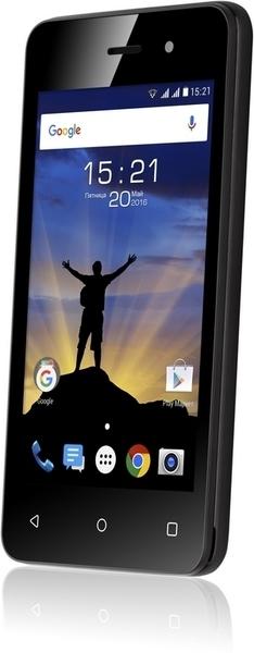 Смартфон Fly FS405 Stratus 4 Dual Sim Black - фото 4.