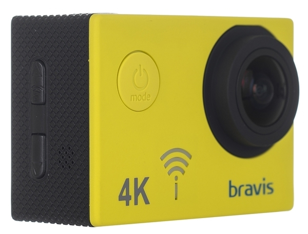 Экшн-камера Bravis А3 Yellow - фото 3.