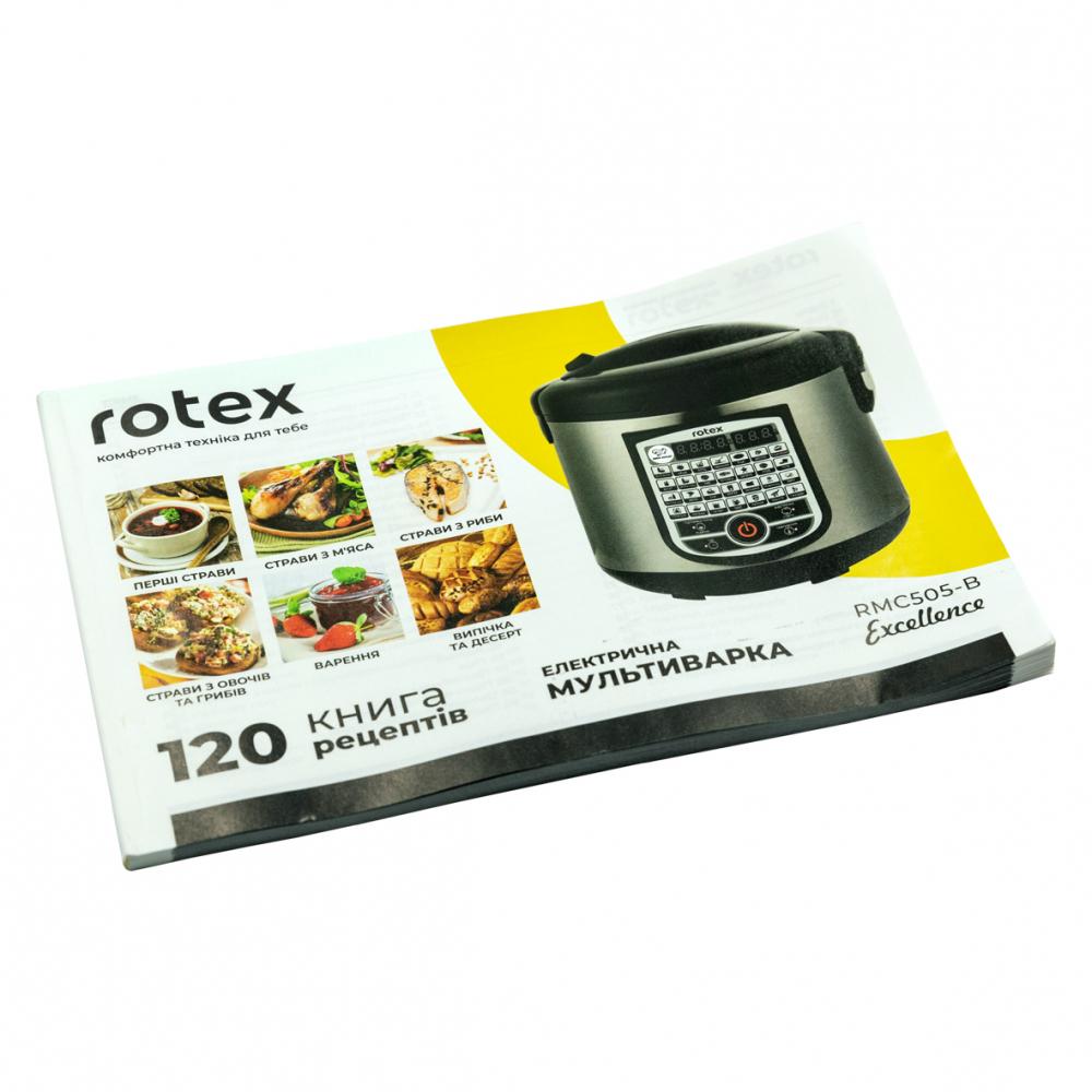 Мультиварка Rotex RMC505-B Excellence - фото 10.