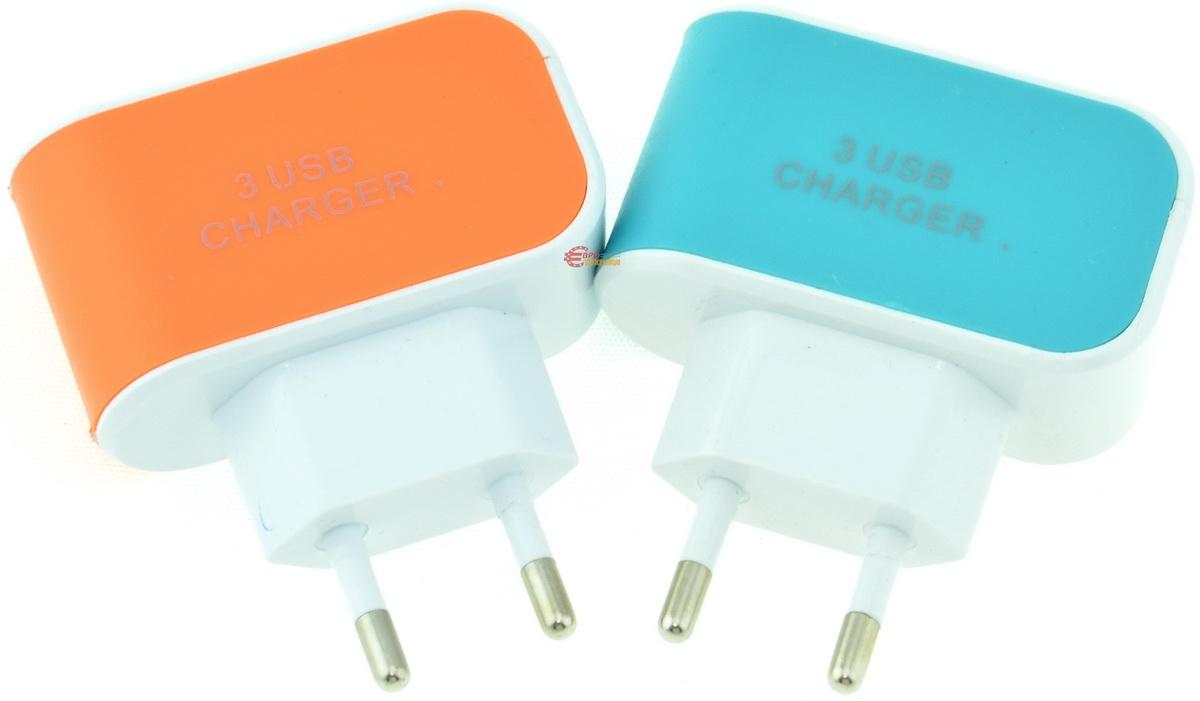 Зарядное устройство Charger 3XUSB - фото 3.