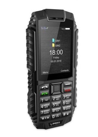 Мобільний телефон Sigma mobile X-treme DT68 Black - фото 4.