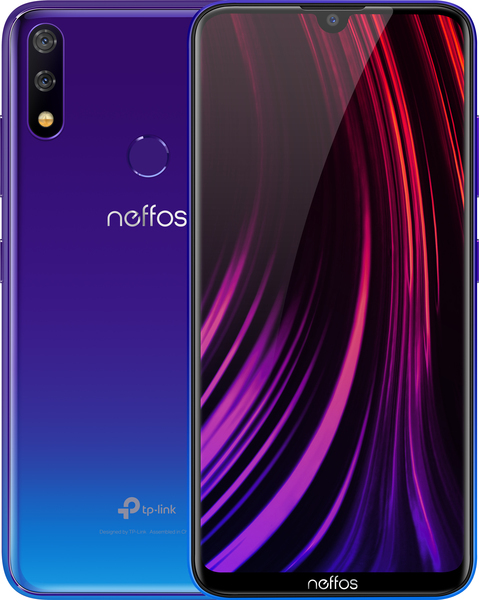Смартфон TP-Link Neffos X20 2/32GB Aurora Purple - фото 3.