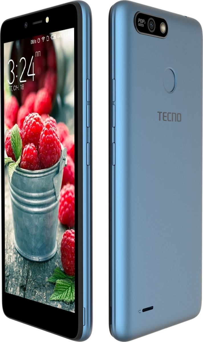 Смартфон Tecno POP 2 Power (B1P) DualSim City Blue + подарунок - фото 3.
