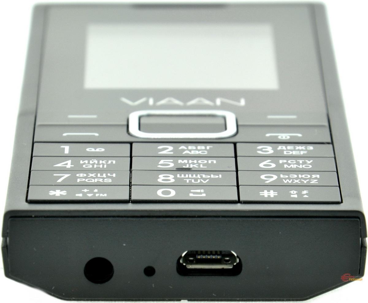 Мобільний телефон Viaan V181 Dual Sim Black - фото 9.