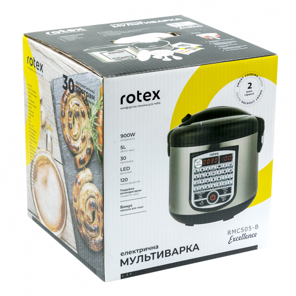 Мультиварка Rotex RMC505-B Excellence - фото 11.