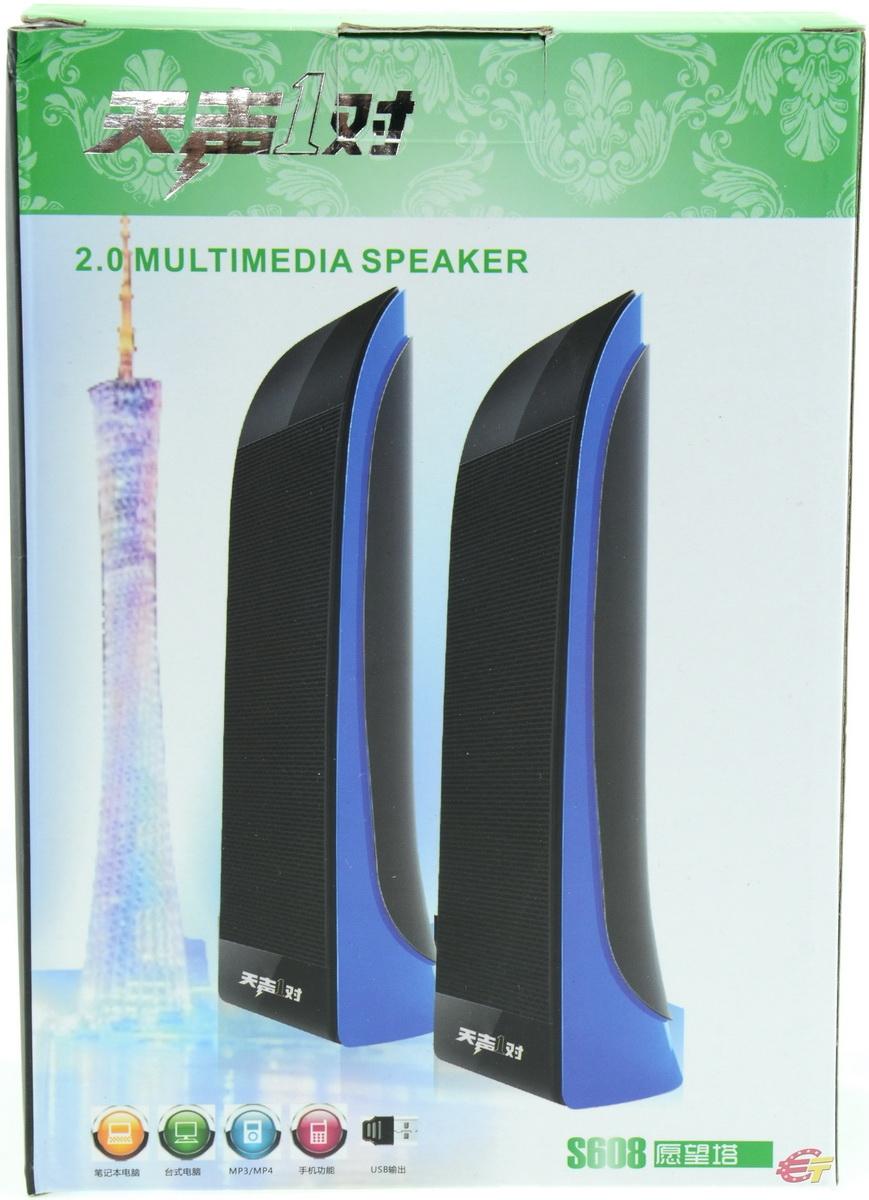 Акустика Multimedia Speaker S-608 - фото 7.
