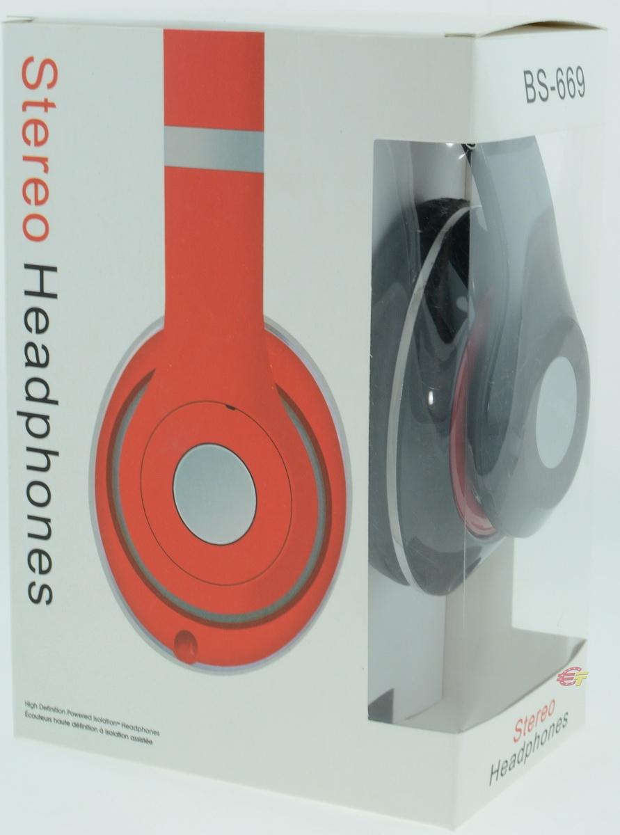 Наушники Stereo Headphones BS-669 - фото 9.