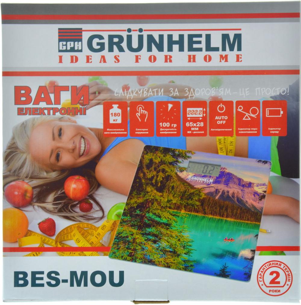 Вага підлогова Grunhelm BES-MOU - фото 3.